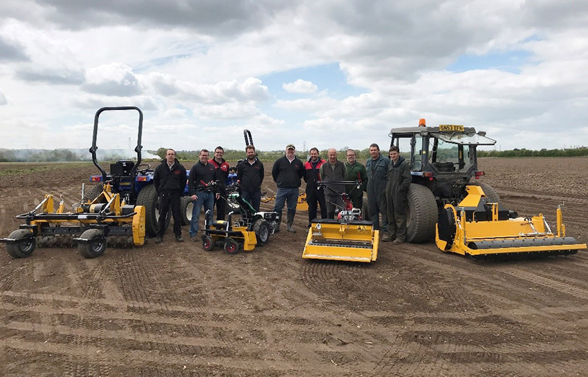 Charterhouse TM sales team gain hands-on experience of BLEC machinery