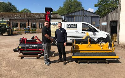 BLECavator improves speed and accuracy of Bowls installations for Dales Sports Surfaces