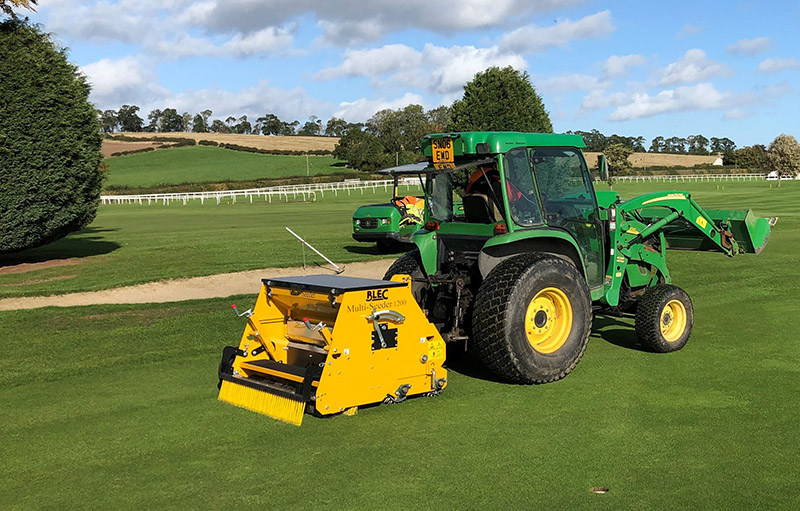 Overseeding transformed for Kelso Golf Club thanks to BLEC Multi-Seeder