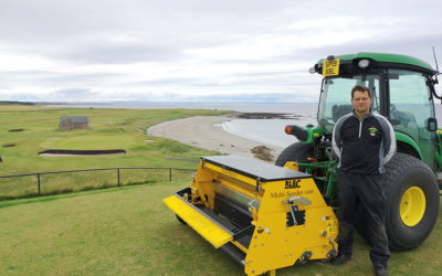 Crail Golfing Society praises BLEC Multi-Seeder for 'no disruption' overseeding